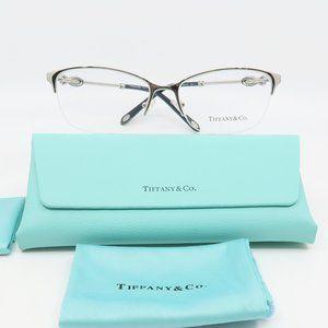 TF 1122-B 6098 Tiffany & Co. Silver Half-Rim